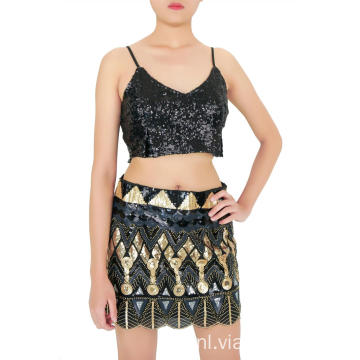 Express Mini-rok met lovertjes