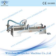 Pneumatic Stainless Steel Semi-Auto Milk Bottle Filling Machine