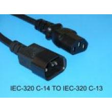 VDE Computer power cords