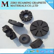 Impulsor de rotor de grafito de carbono para desgasificar