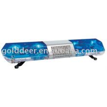 Blue Led Rotating Warning Lightbar with speaker OEM (TBD02622)
