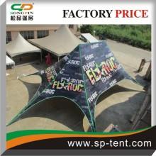 Tente double poteau - tente extérieure instantanée pour publicité