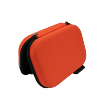 Estuche para auriculares de nylon duro personalizado con tirador de cremallera de metal