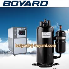 Compresseur d'air Zhejiang noir ac dc pour unité de refroidissement d'huile