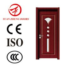 Badezimmer-Tür-Entwurfs-Glas-hölzerner Dusche-Raum-Tür