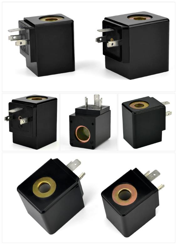 Two types of Automatic Timed Condensate Drain Valve Coils for your reference