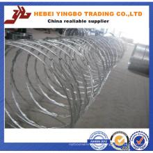 Rasoir fil Bto-22 Cbt-65 / rasoir fil barbelé / fil plat de rasoir