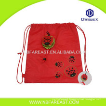 Top quality custom new pretty shopping foldable nylon bag