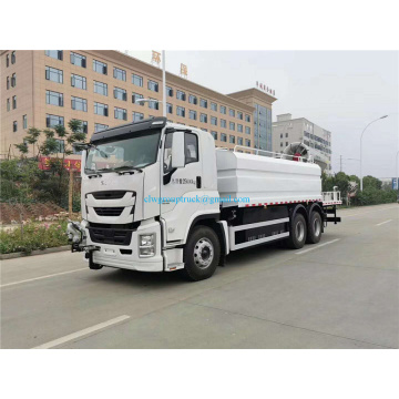 Heavy duty 6x4 dust suppression truck for mining