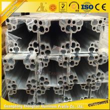 Profil en aluminium industriel fantastique de la fente 6063t5 40 * 40 T