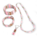 Hematite Set Pale Pink Jewelry