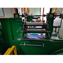 Precision linear bearing slitting machine