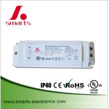 DALI dimmable 500mA 15w LED Spotlight Conducteur courant constant alimentation avec CE UL listé