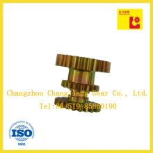 Rueda dentada de engranajes especiales de cadena industrial de acero múltiple