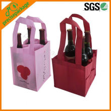 bolsas de asas de algodón pequeñas 100% recicladas a color personalizadas