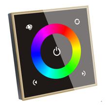 Controlador do diodo emissor de luz do painel de toque de 4 canais RGBW