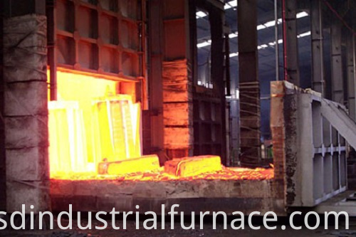 Trolley-Type Forging Furnace