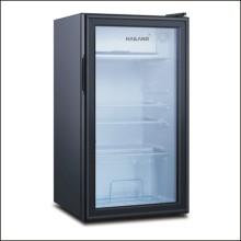 Vitrine do refrigerador vertical para mini bebidas