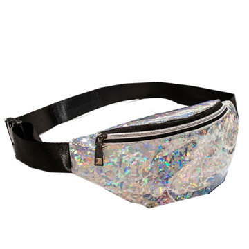 Transparent+Pvc+Glitter+Fanny+Pack+Hologram+Waist+Bag