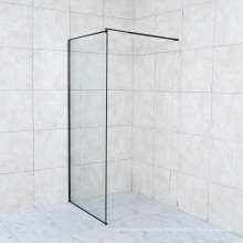 Clear Tempered Glass Adjust Shower Walk in