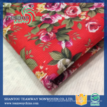 Supply Recycled RPET Stitch bond non woven fabric