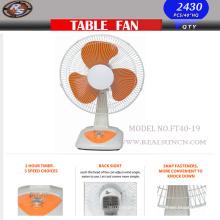 Nouveau ventilateur de table à vent fort avec taille 16 pouces