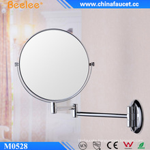 Round Metal Magnifying 3X Concave Make up Mirror