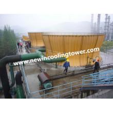 Torre de enfriamiento industrial del enfriador