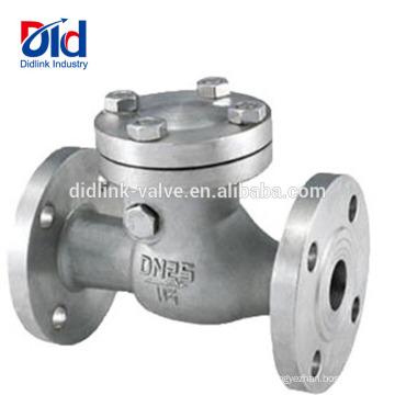 Обратный поток 3 4 дюйма с пружинным возвратом для ватерлинии Din3202 F6 Тип качания Обратный клапан Стандартный
