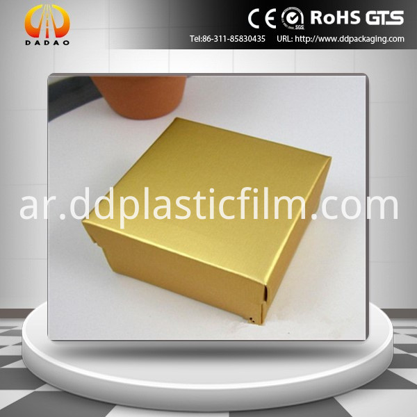 Pet Golden Metallized Film 33