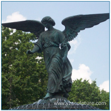 Park Large Size Bronze Winged Angel Statue For Sale
