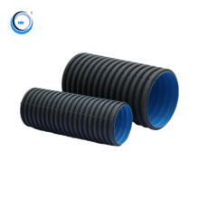 400mm underground drainage and sewer standard length 6m hdpe plastic pipe on sale