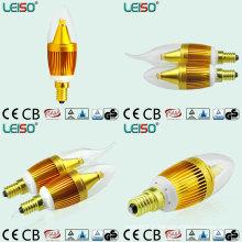 Ampoule unique de bougie du Scob E14 LED de la puce 5W de CREE (LS-B305-GB)