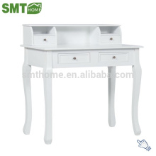 Hot sale modern wooden french hotel white office writing desk