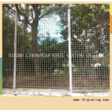 Hot Dipped Galvanized Steel Grating Fence for Security