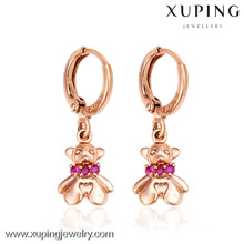 26891- Xuping Young Lady Jewellery Belles boucles d'oreilles ours