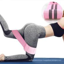 New Style Hip Circle Yoga Band Adjustable Resistance Bands Set Light Pound Custom Logo Yoga Band