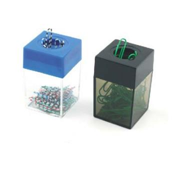 Magnetischer Büroklammerspender / Clipspender / Plastikcliphalter