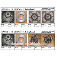 "American Mack Truck Parts 15 1/2"" Cast Iron Clutch Kits M108335-15"