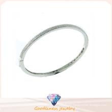 Top Quality Fashion Jewelry 925 Silver Bangle (G41278W)