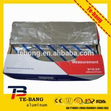 Pop-up shisha/hookah aluminum foil sheet/shisha aluminum foil for smoking