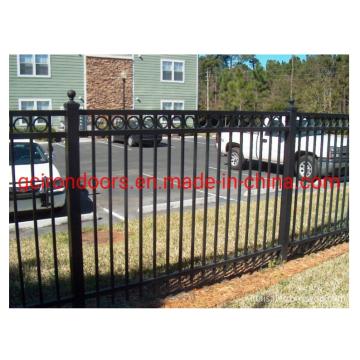 Дешевый декоративный стальной забор из кованого железа