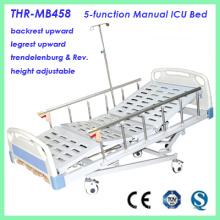 Cama de hospital ICU de 5 funciones (THR-MB458)