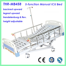 5-Function Manual ICU Hospital Bed (THR-MB458)