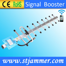 Yagi Antenna, Powerful, 900MHz GSM Mobile Pbone Signal Booster Automatic Detect Signal Strength