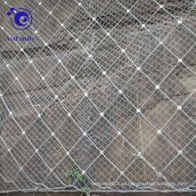 Malla de alambre espiral de la protección de la cuesta de la cuerda para la estación de la hidroelectricidad