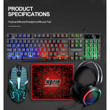 Game 4 in 1 Keyboard/Mouse/Headphone/Mouse Pad