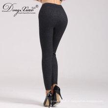 Nouveau Design Laine Cachemire Black Girls Tight Indian Pants