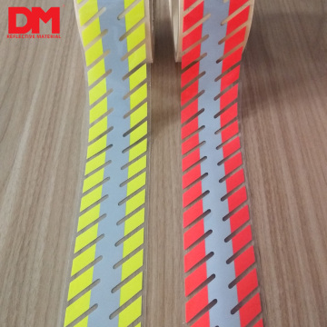 fashion fire resistant segmented reflective heat film