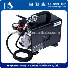 AS18BK airbrush kit with air compressor